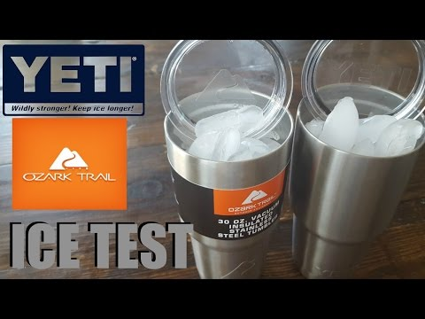 YETI vs OZARK TRAIL ICE TEST 30 HOUR RESULTS