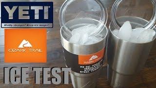 YETI vs OZARK TRAIL ICE TEST 30 HOUR RESULTS