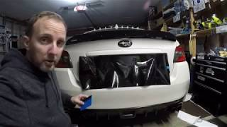 2015 Subaru WRX Ep. 881: Wrapping the License Plate Mount