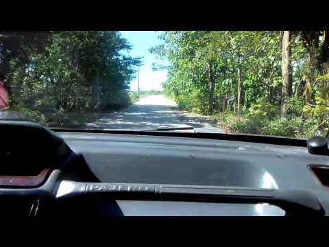Driving in Umingan, Pangasinan