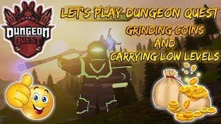 Jouons à ROBLOX: Dungeon Quest! L'agriculture souterraine! #1KCreator !
