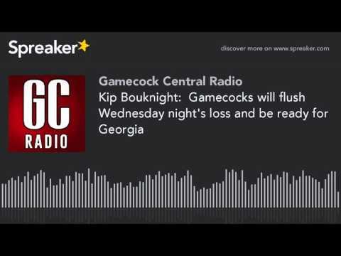 Kip Bouknight:  Gamecocks will flush Wednesday night