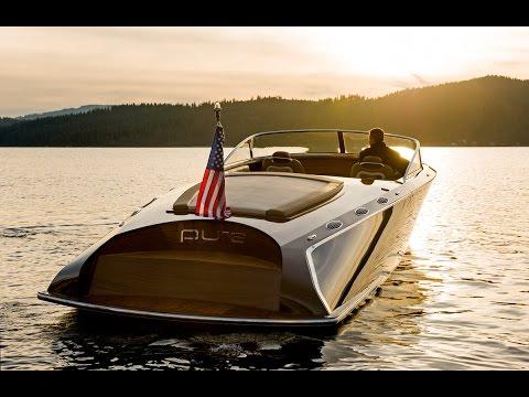 Custom Wood Boats Coeur 340 Pure