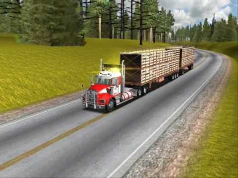 18 Wheels Of Steel Haulin Kenworth T800 DC Logger