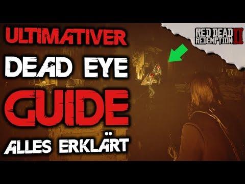 Bester Dead Eye Guide / Tutorial - Alles erklärt - Red Dead Redemption 2 Deutsch Tipps & Tricks