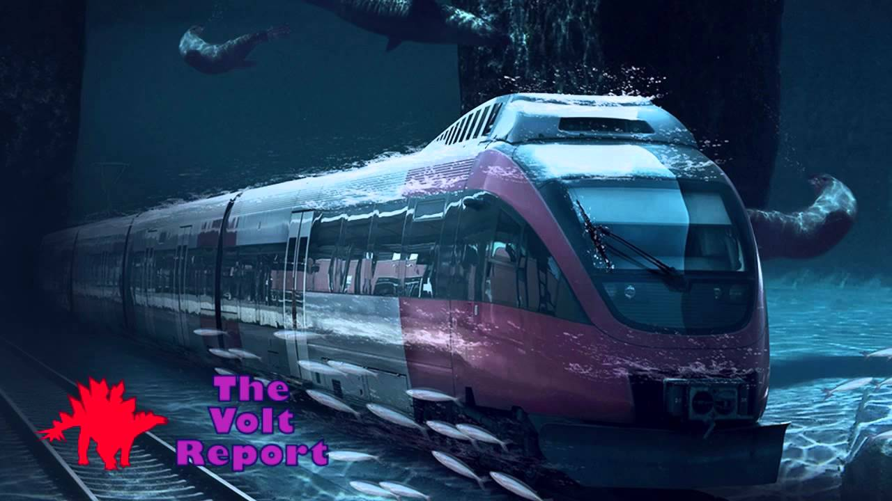 real underwater train. Underwater Railway Train Connecting China, Siberia, Canada, America - YouTube Real A