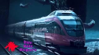 Underwater Railway Train Connecting China, Siberia, Canada, America