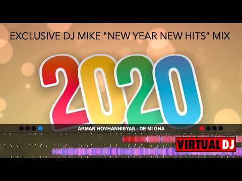 """Exclusive DJ Mike 2020 """"NEW YEAR NEW HITS"""" Armenian Mix"""