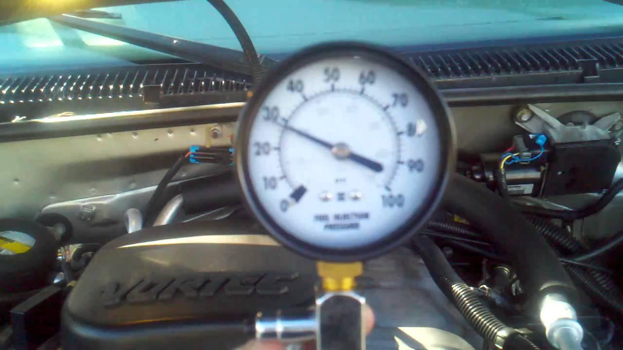 Regulator Gmc Pressure Fuel Location