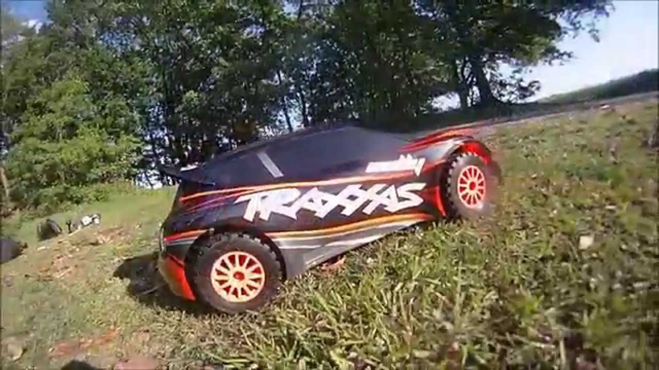 traxxas rally 1 10 4x4 brushless action video youtube. Black Bedroom Furniture Sets. Home Design Ideas