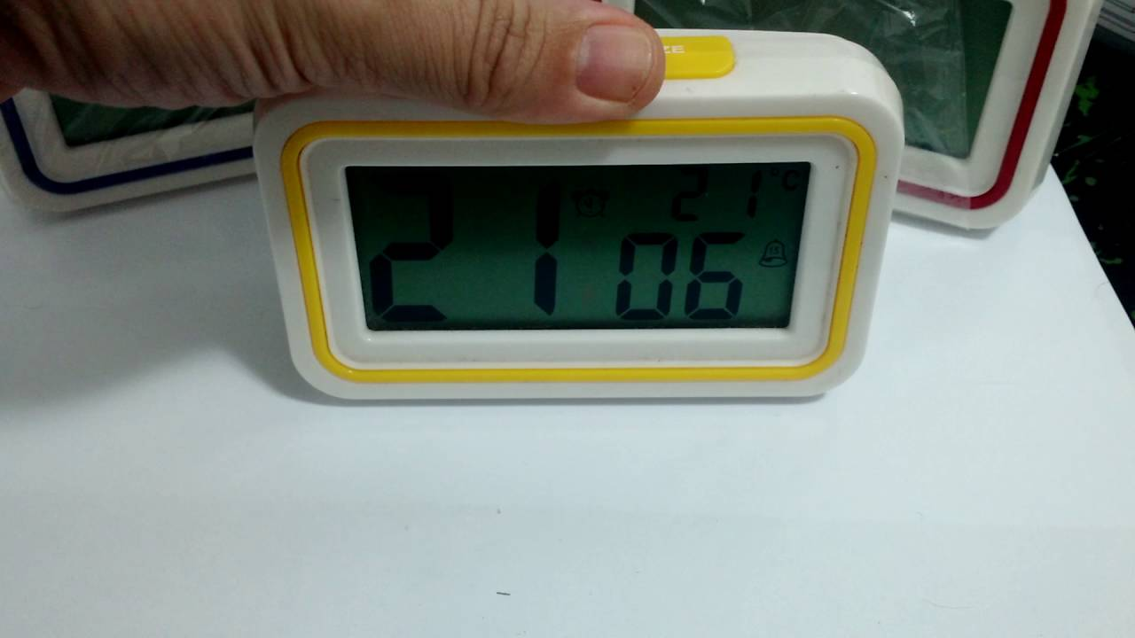 7bea832fac3 Despertador Para Deficientes Visuais - YouTube