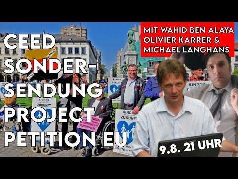 CEED Sondersendung Project Petition EU