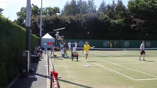 Highlights of the  60 hour world record doubles tennis attempt