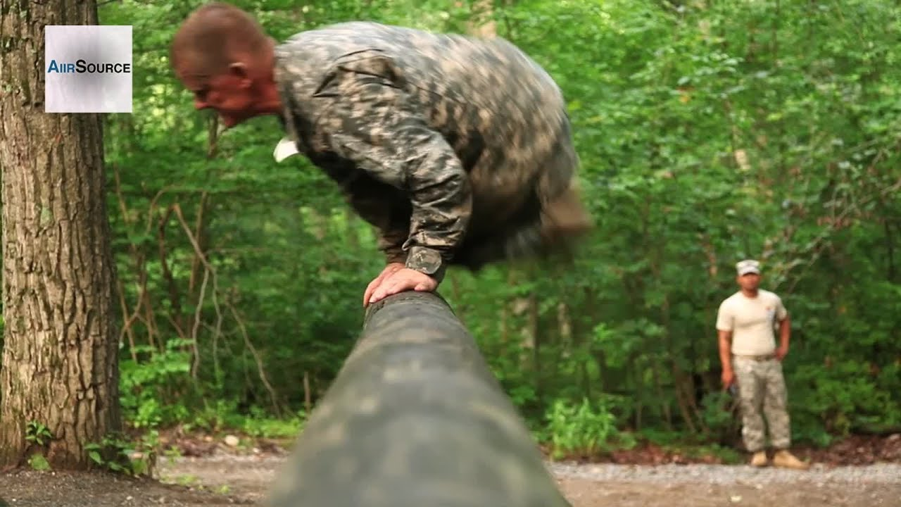 United States Army Air Assault School Obstacle Course Youtube