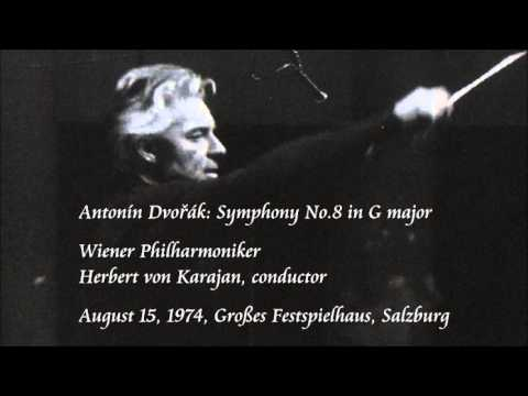 Dvořák: Symphony No.8 in G major - Karajan / Wiener Philharmoniker