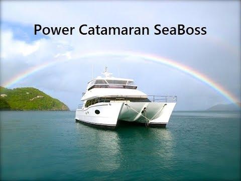 SEABOSS Power Catamaran - Luxury Crewed Yacht Charters BVI