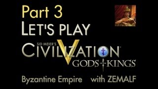 Let's Play Civ 5 G&K - Part 3 - Byzantine Empire, 1300-875 BC [Gods and Kings]