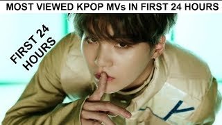 Most Viewed Kpop Music Videos In The First