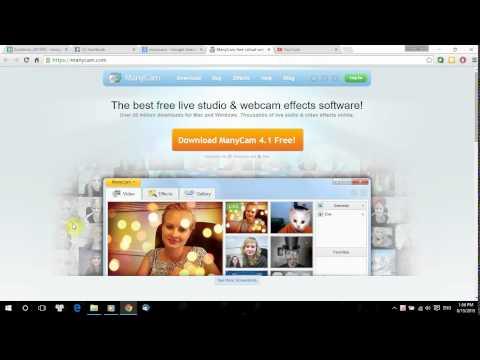 Quay video bằng webcam trên máy tính với youtube