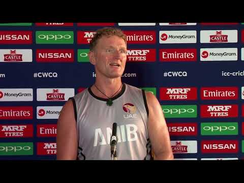 CWCQ : UAE Coach Dougie Brown- post match press conference 20th March 2018