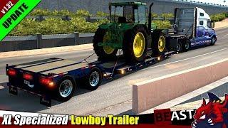 "[""American Truck Simulator"", ""trailer mod"", ""XL Specialized Lowboy Trailer"", ""by axelrol""]"