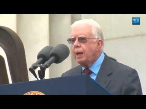 Jimmy Carter -50th Anniversary of March on Washington- Full Speech