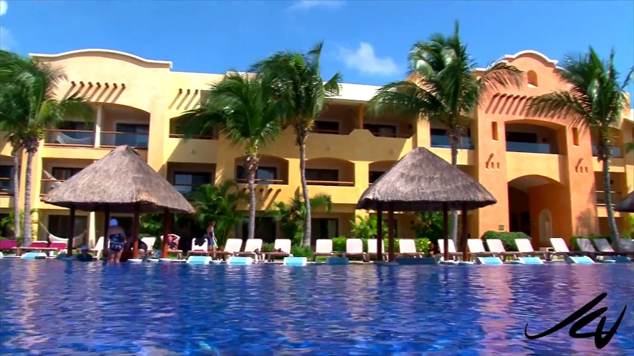 barcelo maya beach riviera maya mexico pools and beach youtube