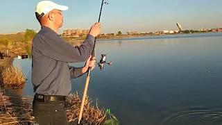 Вечерняя рыбалка на озере Копа в Кокшетау
