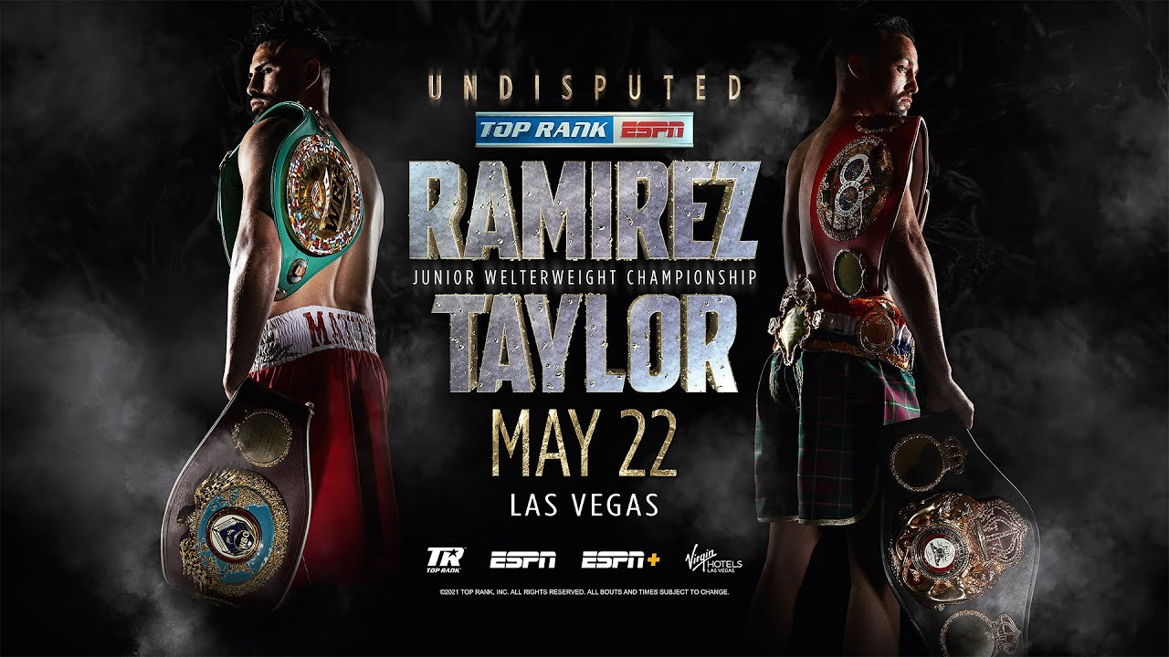 The Making of the Ramiriez vs Taylor Fight Poster   TICKETS ON SALE NOW