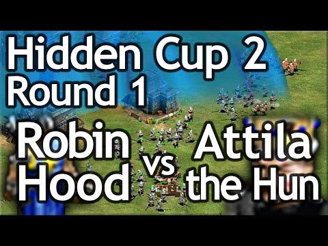 AoE2 Hidden Cup #2 | Robin Hood vs Atilla the Hun! Round of 16!