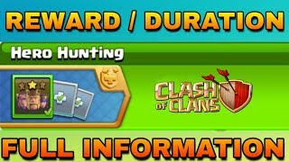 Coc Upcoming Event 2019 - Hero Hunting Full Information Clash Of Clans