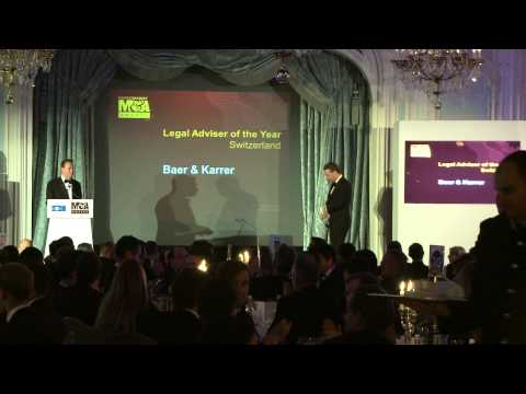 Baer & Karrer - Switzerland Legal Adviser of the Year