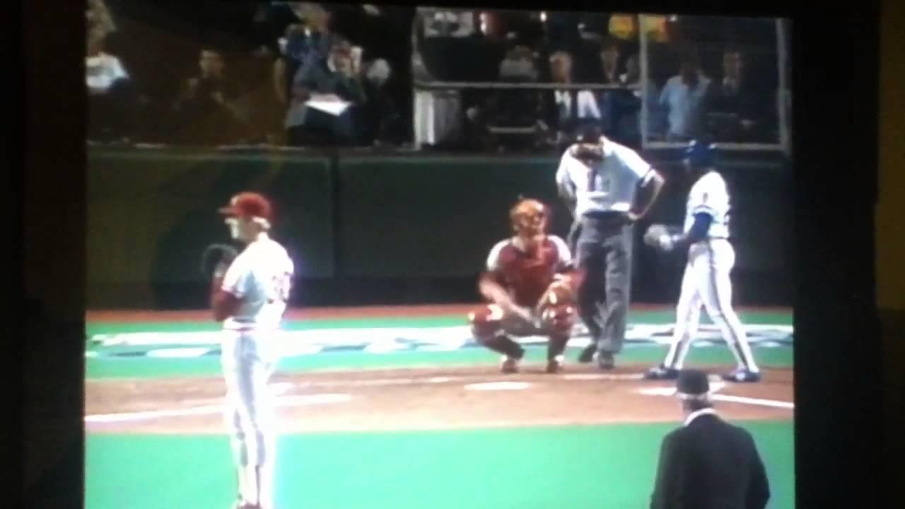 1985 World Series, Game 7 Cardinals @ Royals - YouTube