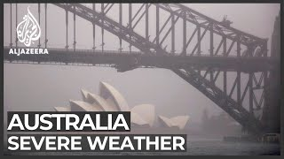 Heavy rains lash Australia, flooding fire-ravaged areas