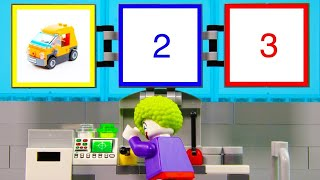 LEGO Experimental Clown Vehicle STOP MOTION LEGO Clown Pie Shooter Car | LEGO Vehicle | Billy Bricks