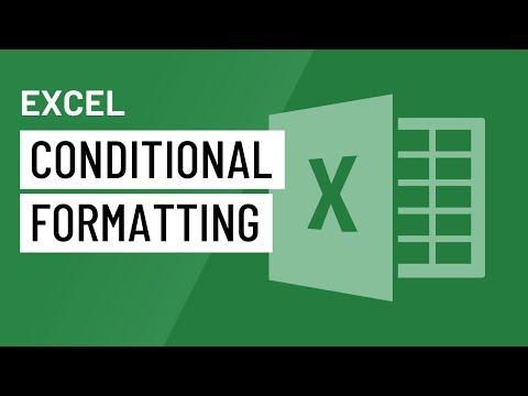 Excel 2016: Định dạng có điều kiện