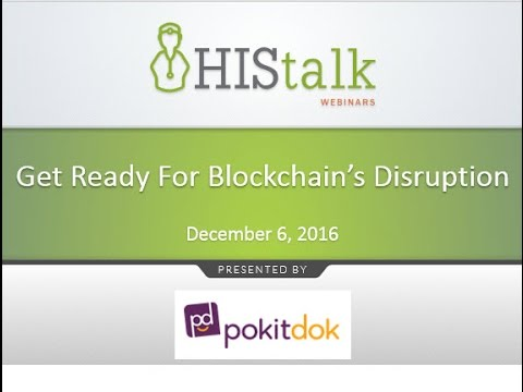 Get Ready for Blockchain's Disruption