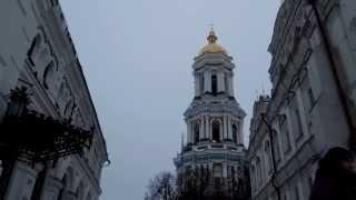 Воскресный колокольный звон в Лавре (Святая Успенская Киево-Печерская Лавра)
