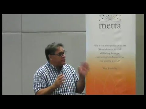 Prof.Shane Houston at Metta Convention 2016