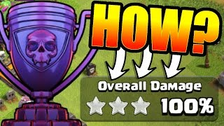 HARDEST CHALLENGE IN CLASH OF CLANS!!! ? ROAD TO 6000 TROPHY'S! ?