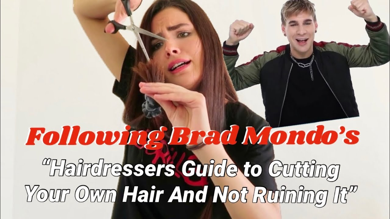 Following Brad Mondo S Hairdressers Guide To Cutting Your Own Hair And Not Ruining It Did It Work Youtube