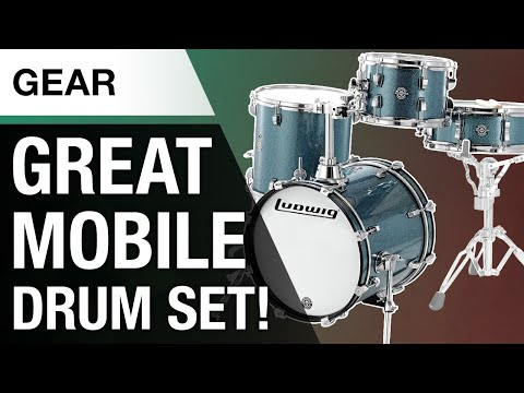 Ludwig Breakbeats Drum Set | Portable But How Does It Sound?