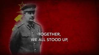 To Communism The Great Stalin Leads Us - Soviet Song About Stalin (English Lyrics)