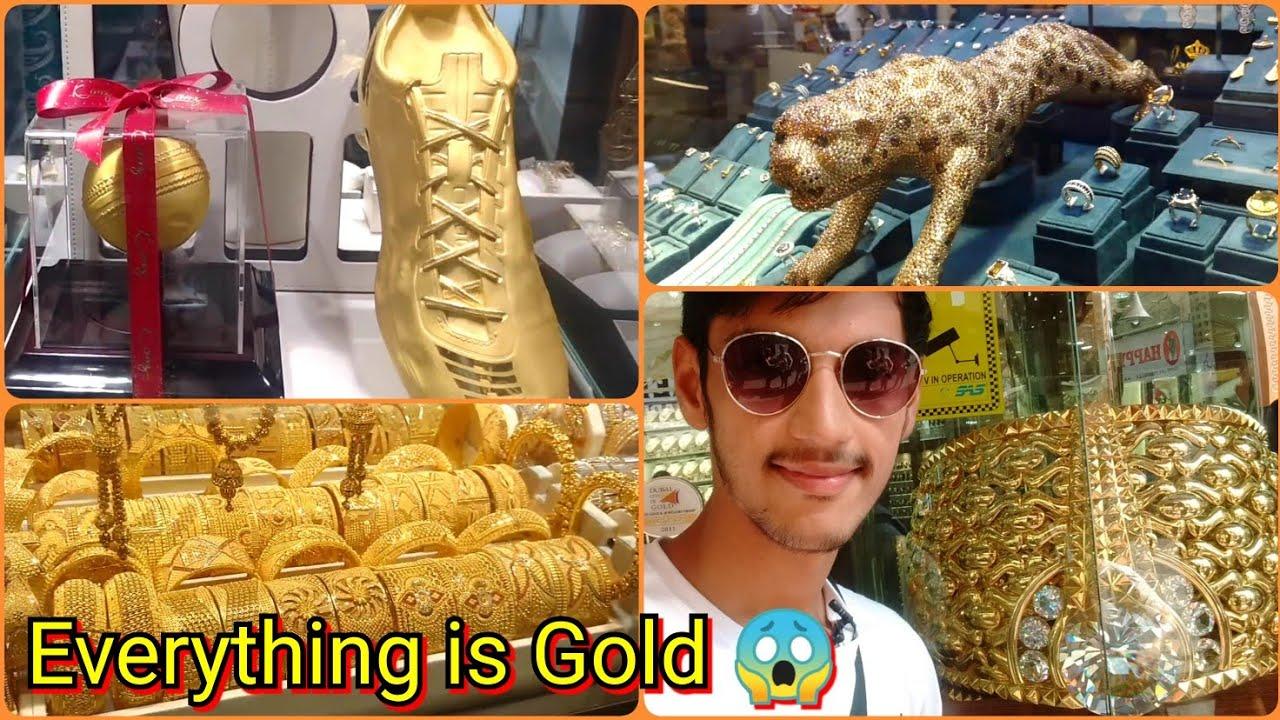 Dubai Gold Markets Gold Souk Youtube