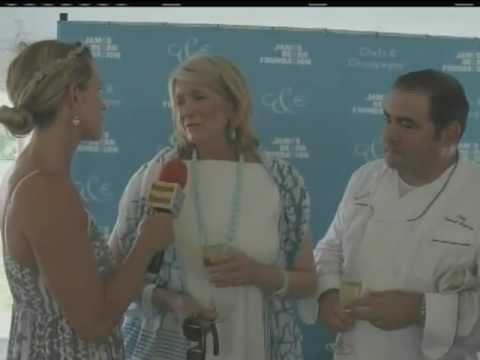 James Beard Foundation Chefs & Champagne 2011 Honoring Emeril Lagasse on VVH-TV
