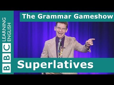 Superlatives: The Grammar Gameshow Episode 21