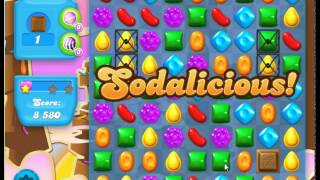 Candy Crush Soda Saga, Level 62, 3 Stars in 6 moves, Must see