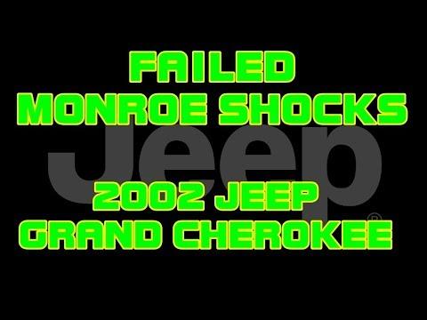 ⭐ 2002 Jeep Grand Cherokee FAILED MONROE SHOCKS