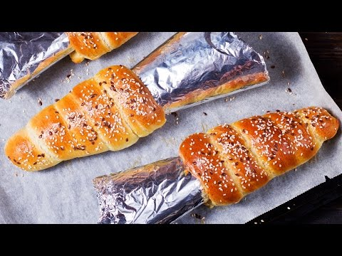 Bread Cones Recipe