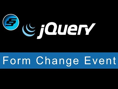 Form Change Event - jQuery Ultimate Programming Bible thumbnail